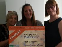 Lancez une fleur! Aussi un succès à Brabant-Wallon / Hainaut