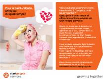 Vous avez déjà une idée pour la St-Valentin? Surprenez votre bien-aimé(e) et offrez-lui du quali-temps!