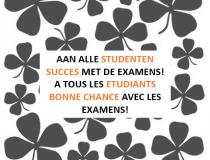 Succes aan alle studenten!