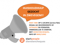 Job in de kijker: huishoudhulp voor Service Flats in Zwevegem!