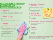 Heb jij het juiste materiaal voor je huishoudhulp?
