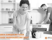 Samen zorgen we voor veilige huishoudelijke hulp!